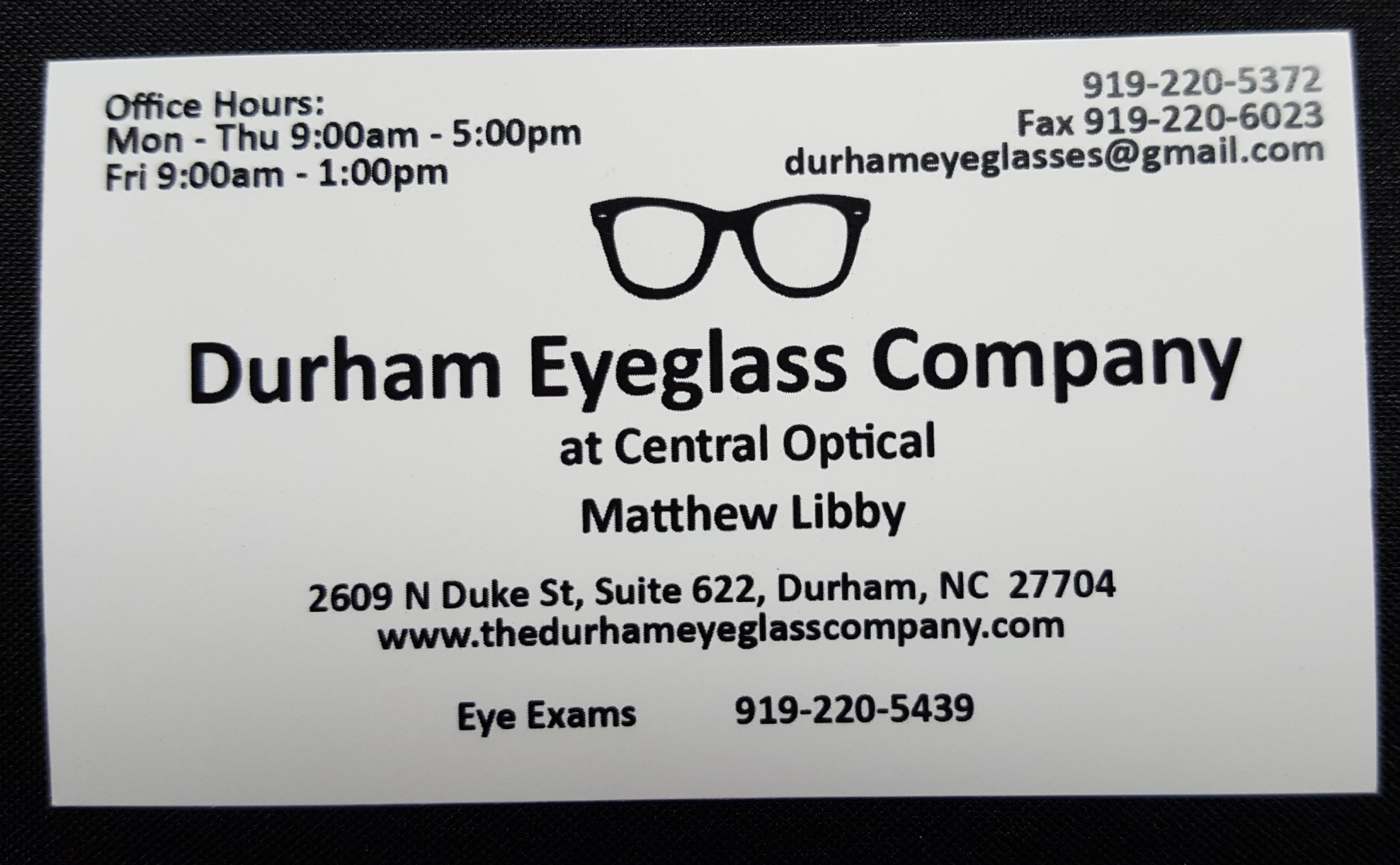 Durham Eyeglass Company
