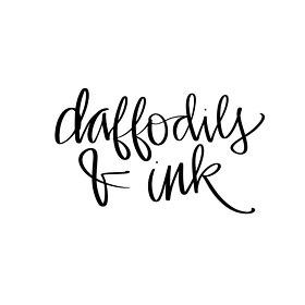 Daffodils & amp; Ink